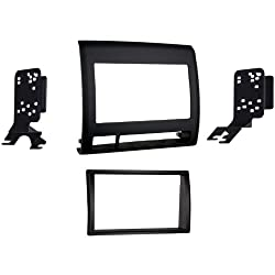See Metra 95-8214TB Double DIN Dash Kit for Toyota Tacoma 2005-2011 Vehicle (Black) Details