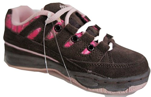 Rip Curl TCKU02, Sneaker bambine Marrone Chocolate Brown & Pink EU 32 (UK 13)