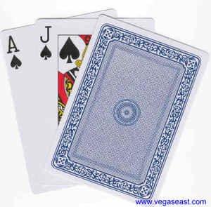 "Jumbo Playing Cards, 7"" x 5"""