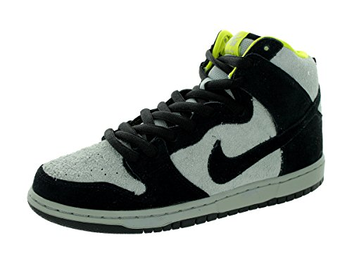 Nike Men's Dunk High Pro SB, BLACK/BLACK-BASE GREY, 11 M US
