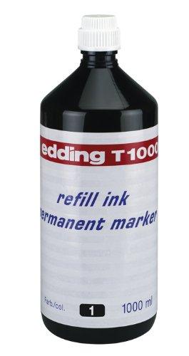 Edding Encre de Chine Recharge 1 L T1000 Noir