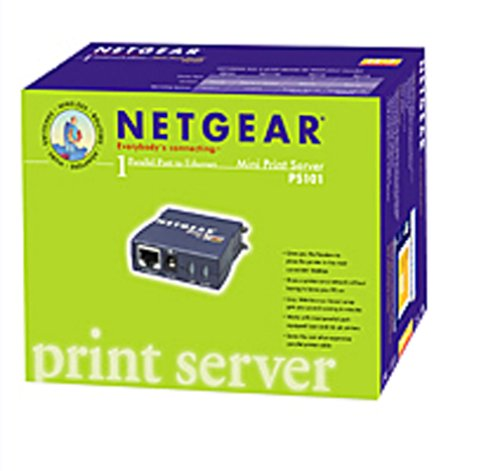 Netgear print server ps101