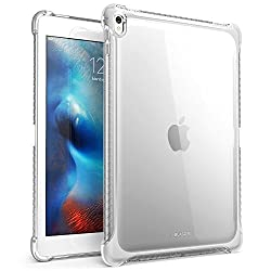 iPad Pro 9.7 Inch, i-Blason Apple iPad Pro 9.7 Cover SoftGel Slim Profile TPU case 2016 Release (Smart Cover Not Compatible, Back cover Only) (Clear)