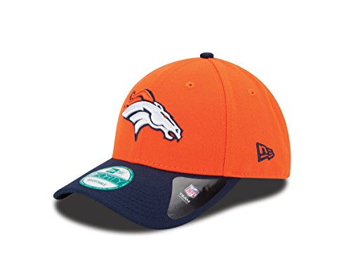 New Era the League 9Forty Denver Broncos Offical Team Colour, Berretto da Baseball Uomo, Arancione (Orange), Taglia Unica (Taglia Produttore: One Size)