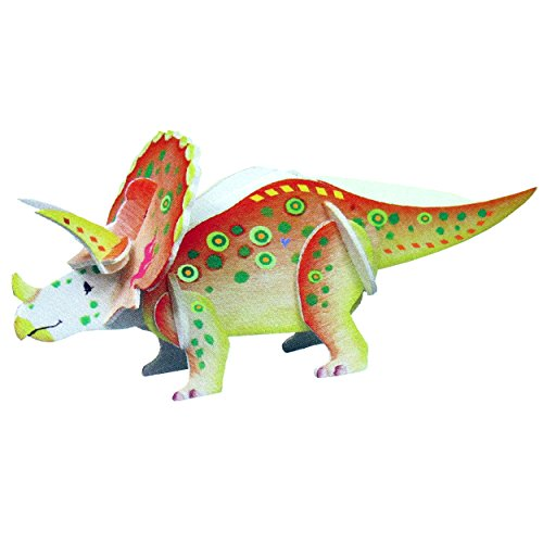 WOODEN DINOSAUR 3D MODEL KIT (Craft Kit)