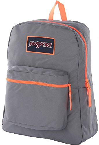 Jansport Overexposed Shady Grey/Fluorescent Orange T08W0CT