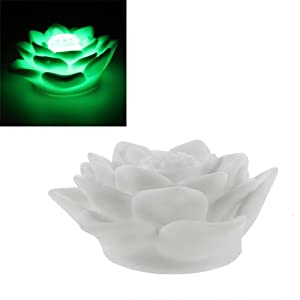 YKS Changing 7 Colors LED Colorful Lotus Night Light Lamp  from YKS