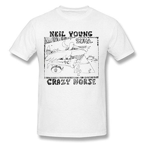 Treask Men's Zuma Neil Young T-shirt