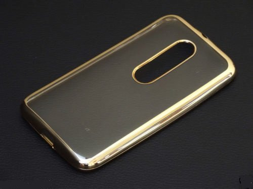 separation shoes 4dce2 6e71a iSAVETM New Luxury Gold Plating Origin TPU Soft Silicon Back Cover For  MOTOROLA MOTO G3 / MOTO G TURBO