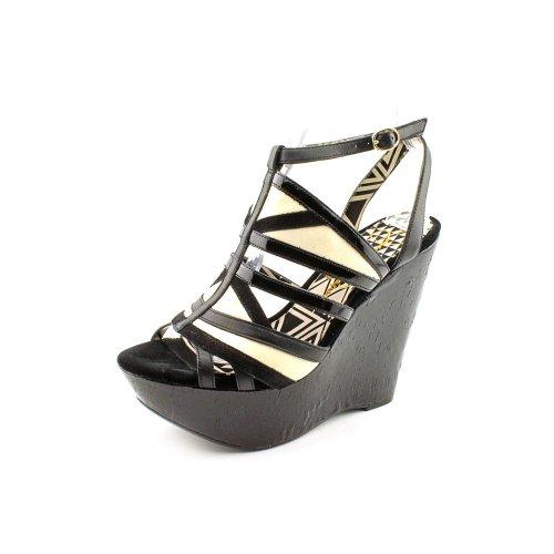 Jessica Simpson Women'S Krisella2 Wedge Sandal,Black Coconut,6.5 M Us