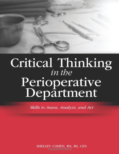 Critical Thinking in the Perioperative Department