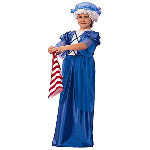 Child's Girl's Colonial Lady Halloween Costume (Size:Large 12-14)