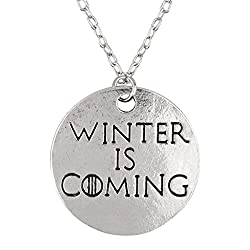 Game of Thrones Winter is Coming Pendant - 2