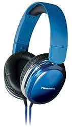 Panasonic RP-HX350 Blue Over-Ear Headphones for iPod/MP3 player/Mobiles