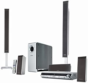 Panasonic SC-RT50 DVD-Recorder Home Theater System (Discontinued by Manufacturer)