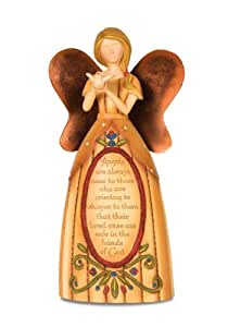 Pavilion Gift Company Country Soul 29003 Angel Figurine, Sympathy, 9-Inch