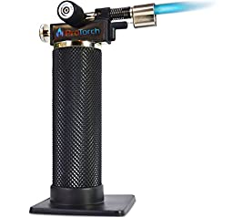 ProTorch Micro Butane Torch: Soldering Plumbing Jewelry Culinary. Tough Self-ignition 1yr Guarantee!