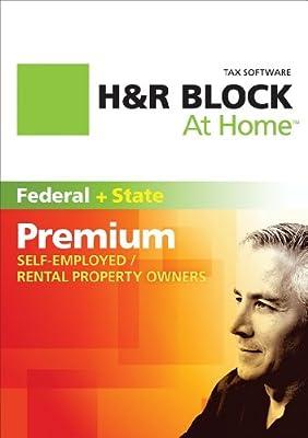 H&R Block At Home Premium + State