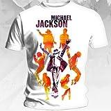 シルエットThis is It silhouette追憶マイケル・ジャクソン【Michael Jackson】TシャツL