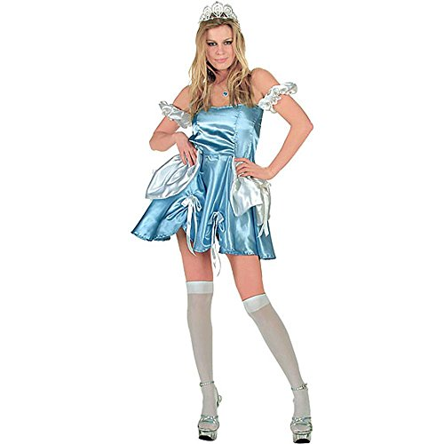 Adult Sexy Cinderella Costume (Size: 2-4)