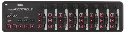 KORG nanoKONTROL2, USB-MIDI-Controller mit 8 Kanälen (8 Fader und 8 Drehregler) - 3