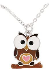 Circle of Friends Pendant, Owl