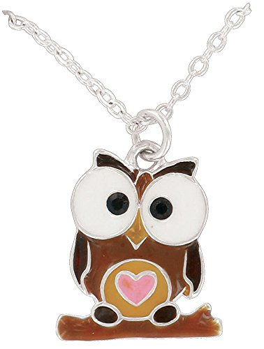 Circle of Friends Pendant, Owl - 1