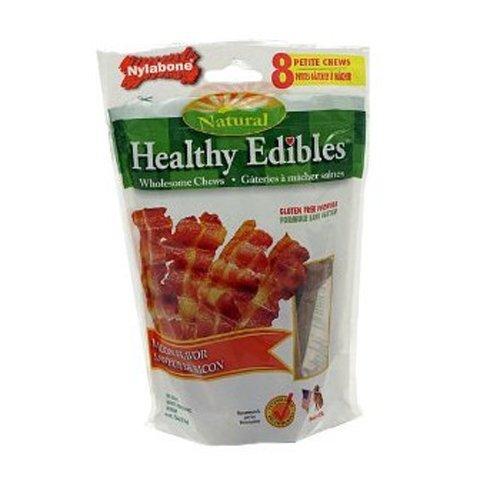 Healthy Edibles Bacon Bone Petite 8/Pkg