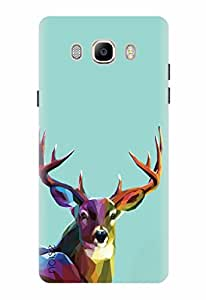 Noise Designer Printed Case / Cover for Samsung Galaxy On8 / Animated Cartoons / Colorful Deer