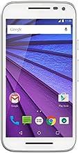 Motorola Moto G 3ème génération Smartphone débloqué 4G (Ecran: 5 pouces - 16 Go - 2 Go RAM - Simple Micro-SIM - Android 5.1 Lollipop) Blanc