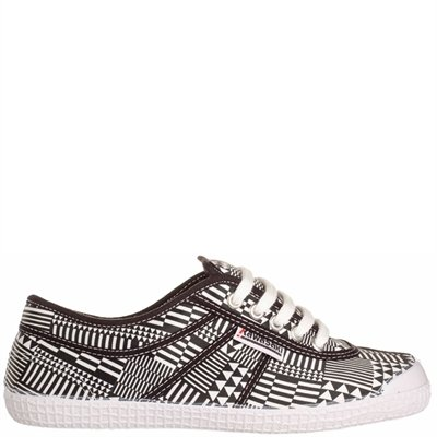 Kawasaki Woman Sneaker Geo White/Black 40