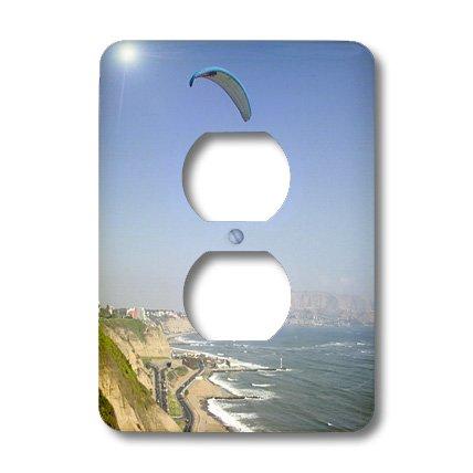 Lsp_87022_6 Danita Delimont - Parasailing - Parasailing, Miraflores, Lima, Peru - Sa17 Jme0525 - John & Lisa Merrill - Light Switch Covers - 2 Plug Outlet Cover
