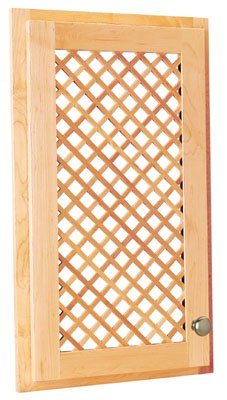 Omega Nplatds 2448 Bi Mini Lattice Door Inserts - Birch