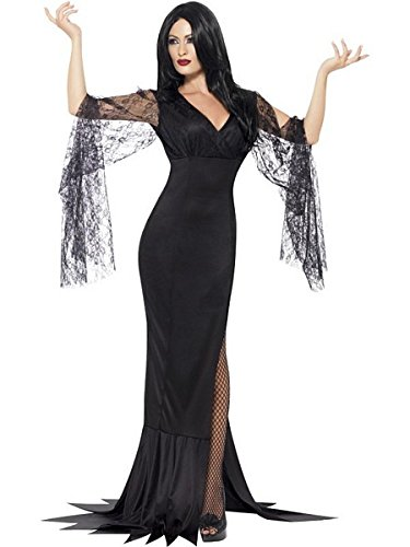 Great Group Halloween Costumes: The Addams Family - Women's Morticia Costume