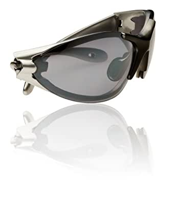 Swiss Eye Blizzard - Gafas de deporte, tamaño 145 mm, color plateado