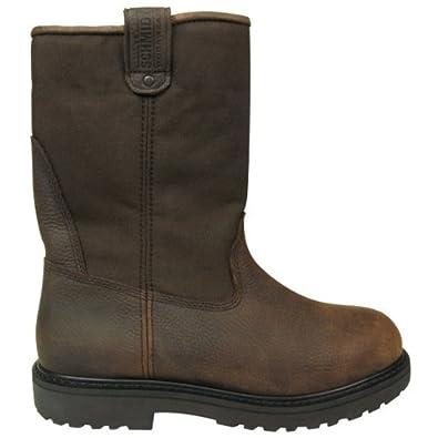 Amazon.com: C.E. Schmidt® Men's 10 in. Steel Toe Wellington Pull-On