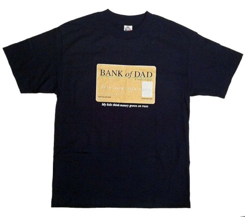bank of dad credit card my kids think money grows on