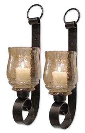 Uttermost 19311 Joselyn Candleholders and Lantern Holders