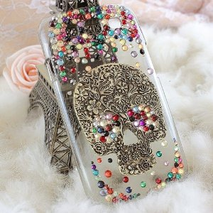 Amazon.com: DIY 3D Bling Cell Phone Case Deco Kit: Rhinestone Skull