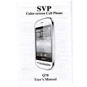 SVP Q70 Black User Manual