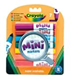 Crayola Pip-squeaks mini markers family fun boy girl kids birthday present gift school crafts art drawing