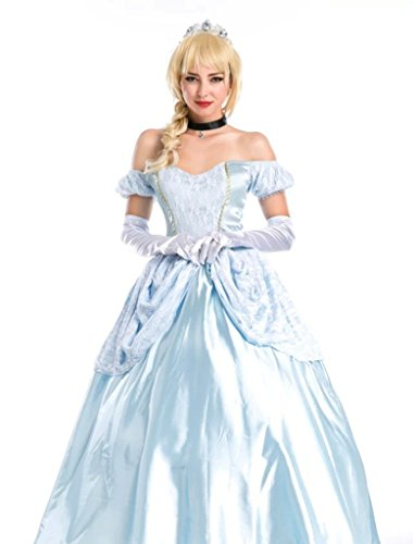 [NonEcho Homemade Halloween Princess Costume Ideas Party Outfit] (Anna Costume Ideas)