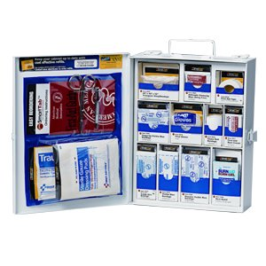 First Aid Only Medium Food Industry First Aid Cabinet-Metal, 5.88 Pound front-330535