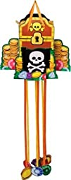 Creative Converting Pirate Party Paper Pinata with Pull Strings