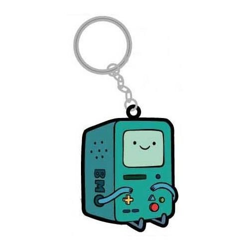 Adventure Time Beemo Rubber Portachiavi