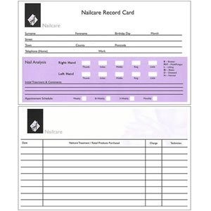 agenda-client-record-cards-nails-pack-of-100