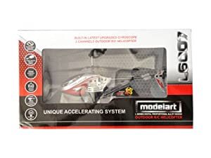 Modelart - 3-Channel Outdoor Helicopter