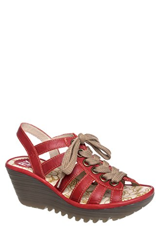 Yito Casual Mid Wedge Sandal