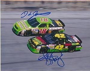 Kyle Petty Autographed Picture - DALE JARRETT & RACING 8X10 - Autographed NASCAR... by Sports Memorabilia