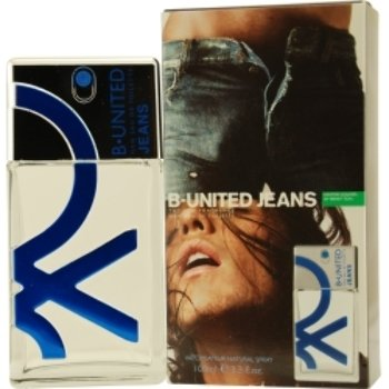 B United Jeans Edt Spray 3.3 Oz By Benetton